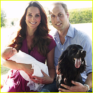 Kate Middleton & Prince William: Family Portrait with George!