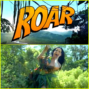Katy Perry: 'Roar' Music Video Teaser - Watch Now!