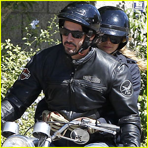 Keanu Reeves: Motorcycle Ride with Mystery Blonde!