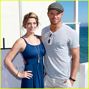 Kellan Lutz: Abbot + Main Launch Party with Ashley Greene!