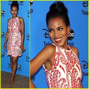 Kerry Washington: 'Scandal' at TCA's Disney/ABC Party!