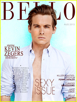 Kevin Zegers Talks Cory Monteith's Death, Received His Ashes