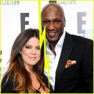 Khloe Kardashian & Lamar Odom Split Amidst Drug Problems