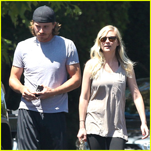 Kirsten Dunst & Garrett Hedlund: Workout Wednesday!