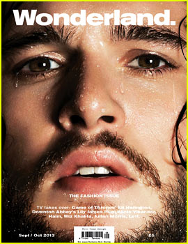 Kit Harington Covers 'Wonderland' September/October 2013