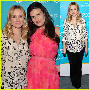 Kristen Bell & Idina Menzel: 'Frozen' at Disney D23 Expo!