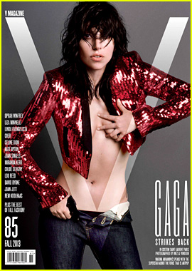 Lady Gaga Goes Nude for 'V Magazine' Cover Feature