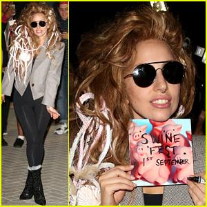 Lady Gaga Previews 'Swine' in iTunes Festival Rehearsal Video!