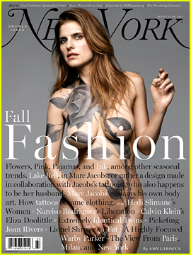 Lake Bell Goes Completely Nude for 'New York' Mag Cover