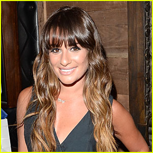 Lea Michele Returns to 'Glee' Set After Cory Monteith's Death