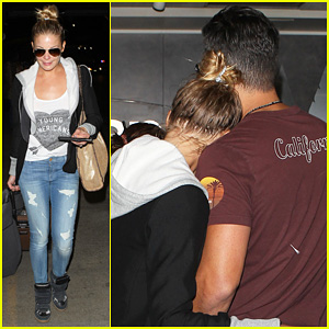 LeAnn Rimes: Birthday LAX Arrivial with Eddie Cibrian!