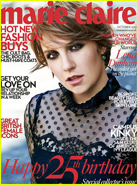 Lena Dunham Talks Body Confidence with 'Marie Claire UK'