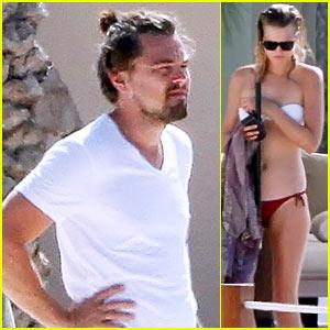 Leonardo DiCaprio & Bikini-Clad Toni Garrn Vacation in Ibiza!