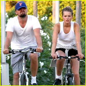 Leonardo DiCaprio & Toni Garrn: Romantic Bike Ride in Spain!