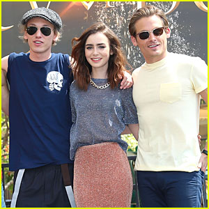 Is jamie campbell bower hookup lily collins