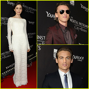 Lily Collins & Jamie Campbell Bower: 'Mortal Instruments' Toronto Premiere!