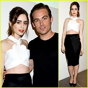 Lily Collins & Kevin Zegers: 'Flaunt' Magazine Cover Party!