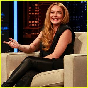 Lindsay Lohan's 'Chelsea Lately' Hosting Gig - Pics & Videos!