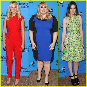 Malin Akerman & Rebel Wilson: TCA's Disney/ABC Party!