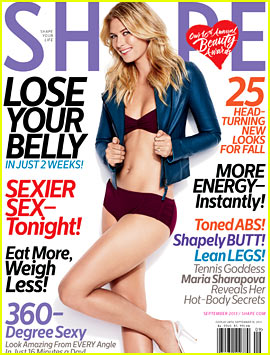 Maria Sharapova: Bikini for 'Shape' September 2013 (Exclusive)