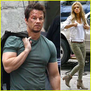 Mark Wahlberg: Bloody Head Wounds on 'Transformers 4' Set!