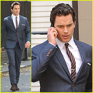 Matt Bomer: 'White Collar' Scenes with Willie Garson!