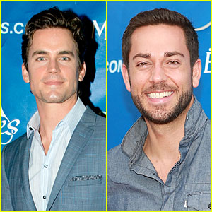 Matt Bomer & Zachary Levi: USTA Serves Opening Night Gala!