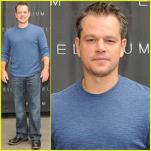 Matt Damon: 'Elysium' Los Angeles Photo Call