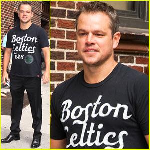 Matt Damon: 'I Spend My Life Trying to Be Like Brad Pitt'