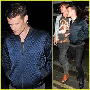 Matt Smith Rides in Rickshaw After Clubbing with Friends