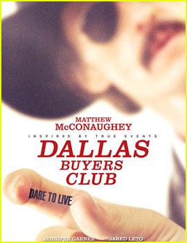 Matthew McConaughey: 'Dallas Buyers Club' Trailer & Poster!
