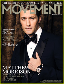 Matthew Morrison Covers 'August Man Movement' August 2013