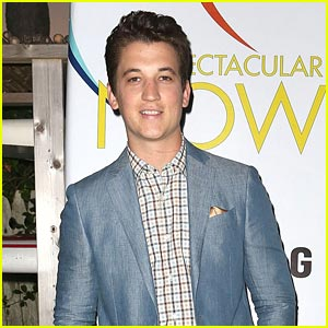 Miles Teller: 'Spectacular Now' Interview!