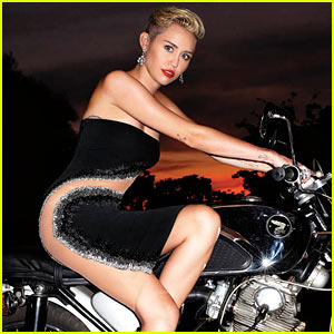 Miley Cyrus: Fashion Feature for 'Harper's Bazaar'!