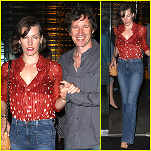 Milla Jovovich: Sheer Red for Paul W.S. Anderson!
