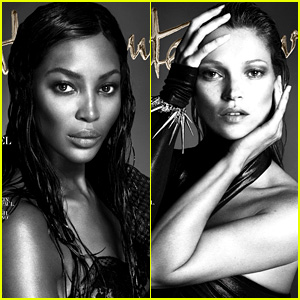 Naomi Campbell & Kate Moss Cover 'Interview' September 2013