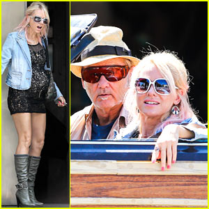 Naomi Watts & Bill Murray: 'St. Vincent de Van Nuys' Convertible Scenes