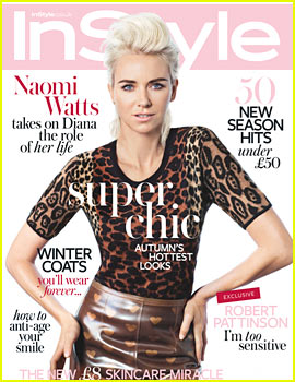 Naomi Watts Covers 'UK InStyle' October 2013