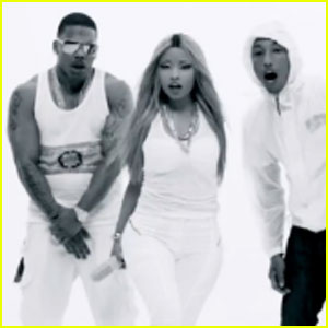 Nicki Minaj: 'Get Like Me' Video with Nelly & Pharrell - Watch Now!