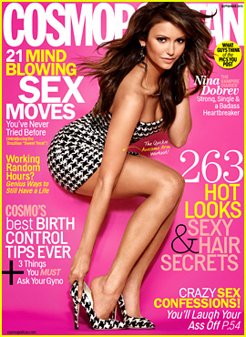 Nina Dobrev Covers 'Cosmopolitan' September 2013
