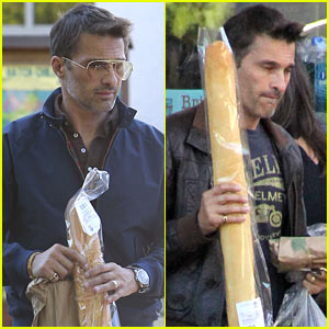 Olivier Martinez Buys Two Baguettes in One Week