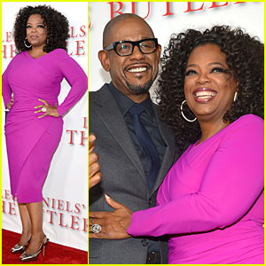 Oprah Winfrey & Forest Whitaker: 'The Butler' L.A. Premiere!