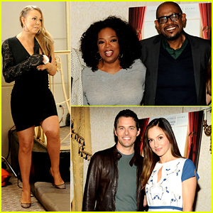 Oprah Winfrey & Mariah Carey: 'The Butler' Press Conference!