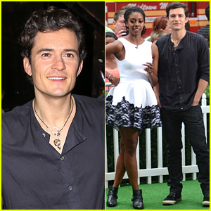 Orlando Bloom & Condola Rashad: 'Romeo & Juliet' Promo on 'GMA'!