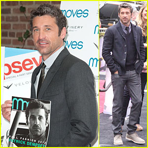 Patrick Dempsey: 'Moves' Fall Fashion Issue Cover Party!