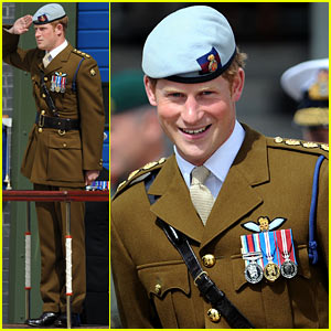 Prince Harry Attends Royal Marine Center Opening in Devonport