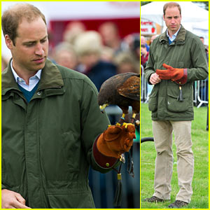 Prince William: Royal Baby Prince George is Extremely Good Looking!