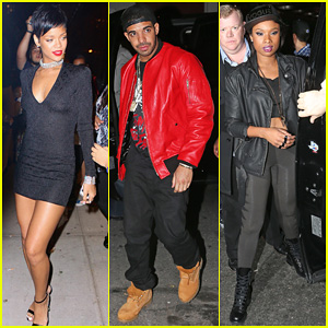 Rihanna & Drake - MTV VMAs 2013 After Party!