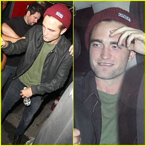 Robert Pattinson: Bobby Long Concert Goer!