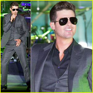Robin Thicke Files Lawsuit To Protect 'Blurred Lines'